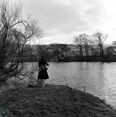 Fishing, River Wharfe, Pool-in-Wharfedale